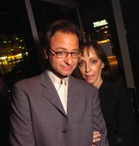Fisher Stevens and Bonnie Timmerman at the TIFF party for