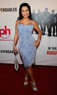 Simona Williams at the Las Vegas premiere of
