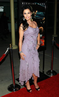 Simona Williams at the California premiere of