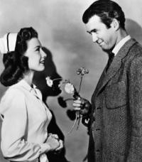 Peggy Dow and James Stewart in