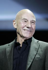 Patrick Stewart at the 15th Jules Verne aventures film festival.