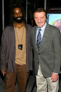Timothy Stickney and Larry Bryggman at the post-performance party of the opening night of