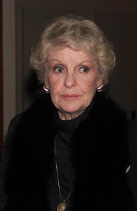 Elaine Stritch at the party for