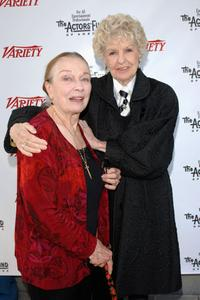 Pat Morrison and Elaine Stritch at the 2005 Tony Awards Party and The Julie Harris Award.