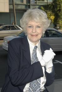 Elaine Stritch at the LA premiere of