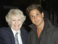 Elaine Stritch and Singer Ohad Einbinder at the LA premiere of