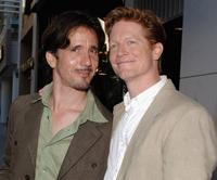 Robert Brinkman and Eric Stoltz at the Stephen Tobolowsky's Birthday Party and DVD release.