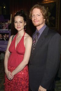 Eric Stoltz and Laura Linney at the screening of
