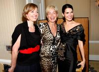 Sharon Stone, Allison Janney and Angie Harmon at the Diamond Information Center and InStyle Diamond Fashion Show.