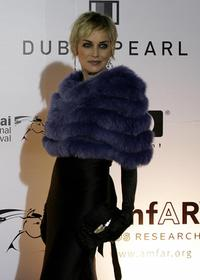 Sharon Stone at the 4th Dubai International Film Festival Cinema Against AIDS event.