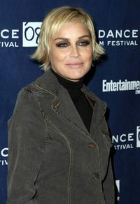 Sharon Stone at the 2008 Sundance Film Festival Premiere of