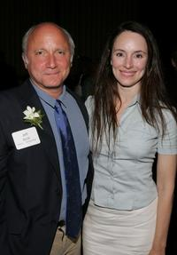 Jeff Arch and Madeleine Stowe at the 31st Humanitas Prize ceremony.