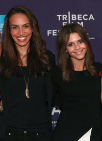 Nina Lisandrello and Alexandra Chando at the premiere of