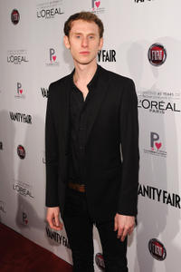 Robert Emms at the L'Oreal Paris & Fiat's Vanity Fair D.J. Night in California.
