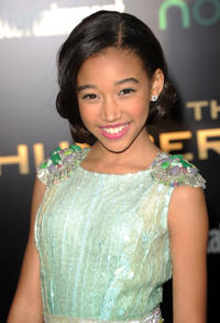 Amandla Stenberg at the California premiere of
