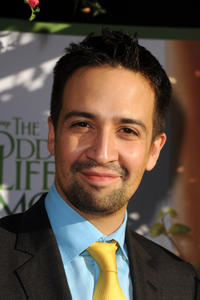 Lin-Manuel Miranda at the California premiere of