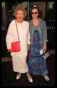 Gloria Stuart at the premiere of