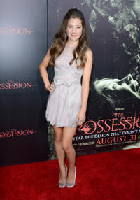 Natasha Calis at the California premiere of