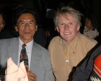 Wes Studi and Gary Busey at the American Indian College Fund Gala.