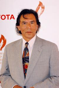 Wes Studi at the American Indian College Fund Gala.