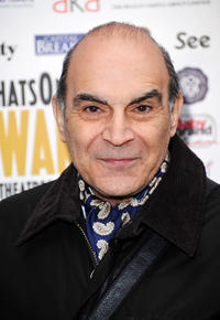 David Suchet at the Whatsonstage.com Awards Concert Launch 2010 in London.