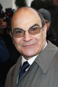 David Suchet at the South Bank Show Awards.