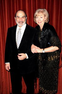 David Suchet and Sheila Ferris at the world premiere of