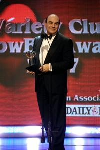 David Suchet at the Variety Club Showbiz Awards.