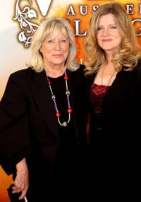 Margarethe von Trotta and Barbara Sukowa at the premiere of