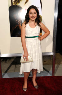 Amara Miller at the California premiere of