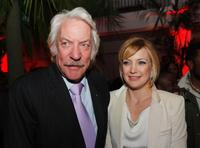 Donald Sutherland and Kate Hudson at the premiere of