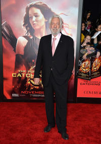 Donald Sutherland at the California premiere of