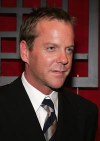 Kiefer Sutherland at the FOX Broadcasting Company Upfront.