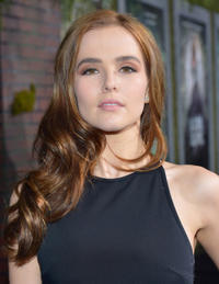 Zoey Deutch at the California premiere of