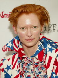"Tilda Swinton at the ""Young Adam"" U.S. premiere in New York City."