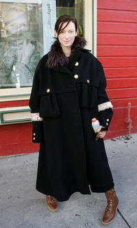 Tilda Swinton at the 2006 Sundance Film Festival in Park City, Utah.