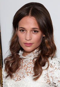 Alicia Vikander at the New York premiere of