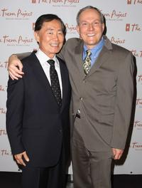 George Takei and Producer Brad Altman at the 8th Annual The Trevor Project Benefit Gala.