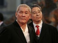 Beat Takeshi Kitano at the 62nd Venice Film Festival premiere of