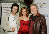George Chakiris, Amber Tamblyn and Russ Tamblyn at the California premiere of