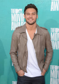 Ryan Guzman at the 2012 MTV Movie Awards in California.