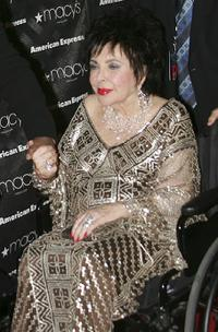 Elizabeth Taylor at 25th Anniversary of Macy's Passport.