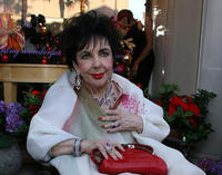 Elizabeth Taylor at the House Of Taylor Jewelry Inc in California.