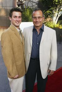 Mark L. Taylor and son Daniel at the Los Angeles premiere of