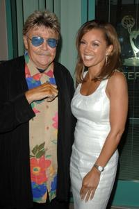 Rip Taylor and Vanessa Williams at the Academy of Television Arts & Sciences.