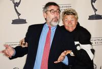Director John Landis and Rip Taylor at the Academy of Television Arts & Sciences.