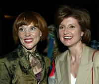 Leigh Taylor-Young and Arianne Huffington at the American Cinematheque's Mods and Rockers Film Festival screening of