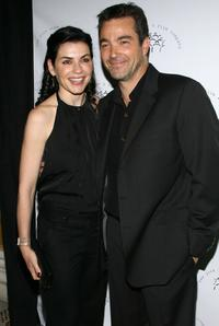 Julianna Margulies and Jon Tenney at the 2008 New York Stage and Film Gala.