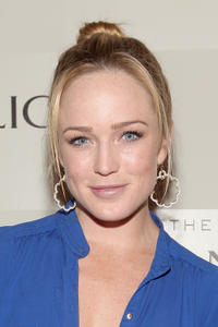 Caity Lotz at the Banana Republic Mad Med Spring Collection Launch in California.