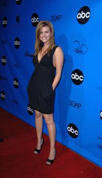 Tiffani-Amber Thiessen at the Disney/ABC Television Group All Star Party.